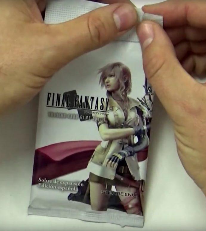 Final Fantasy TCG: primer unboxing en español