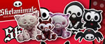Distribuidor peluches Skelanimals