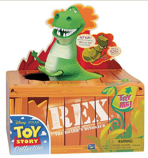 figura toy story rex 30 cm un clasico distribuidores. Black Bedroom Furniture Sets. Home Design Ideas