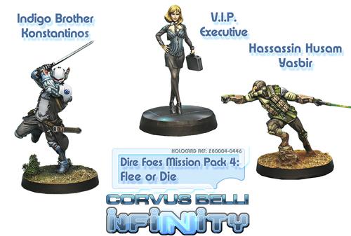 MISSION PACK 4 - FLEE OR DIE( HASSASIN VS M ORDE )
