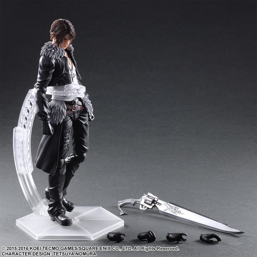 FIGURA PLAY ARTS FINAL FANTASY SQUALL 28 CM