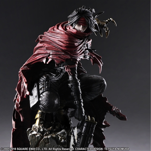 ESTATUA FINAL FANTASY VII VINCENT VALENTINE 16 CM