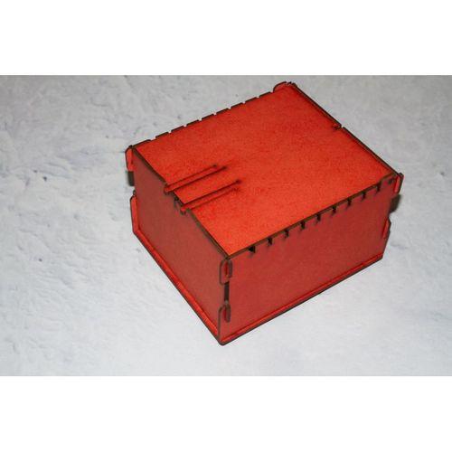 Caja de almacenaje de cartas rojo distribuidores - Caja de almacenaje ...