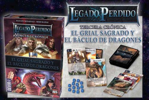 LEGADO PERDIDO CRONICA 3 GRIAL SAGRADO