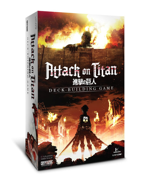 ATTACK ON TITAN DECK BUILDING GAME (ING)