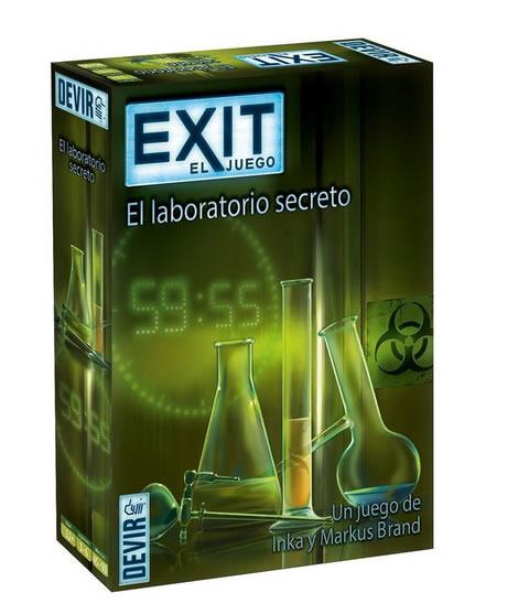 EXIT 3 EL JUEGO: EL LABORATORIO SECRETO