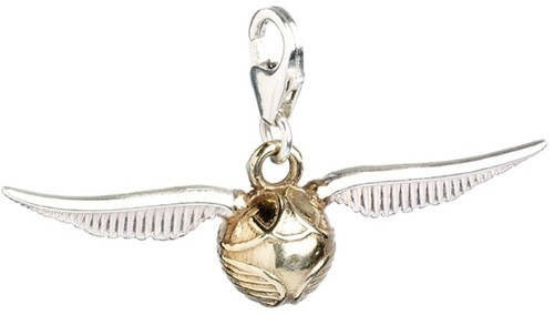 COLGANTE CHARM *PLATA* HARRY POTTER SNITCH