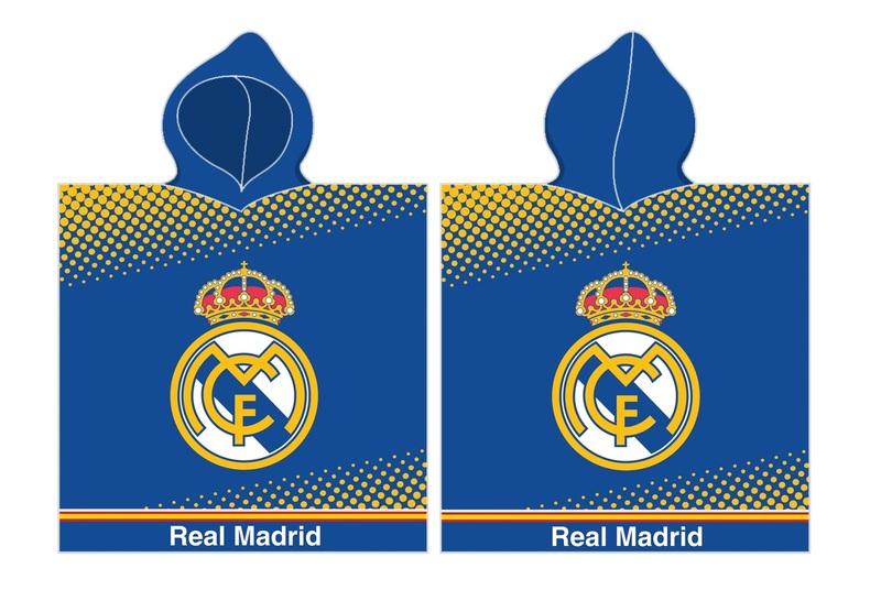 PONCHO REAL MADRID A UNISIZE 55x110 8a0de6f1597ce