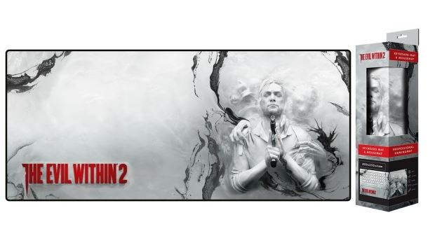 ALFOMBRILLA/TAPETE GIGANTE THE EVIL WITHIN 80 X 35