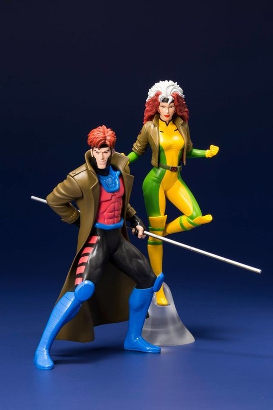 FIGURA ARTFX MARVEL X MEN GAMBIT & ROGUE 20 CM