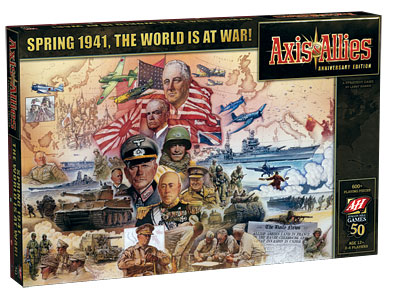 AXIS & ALLIES ANIVERSARY LIMITED EDITION (INGLES)