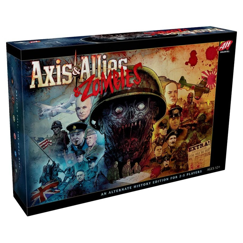 AXIS & ALLIES ZOMBIES ¡¡¡ (INGLES)