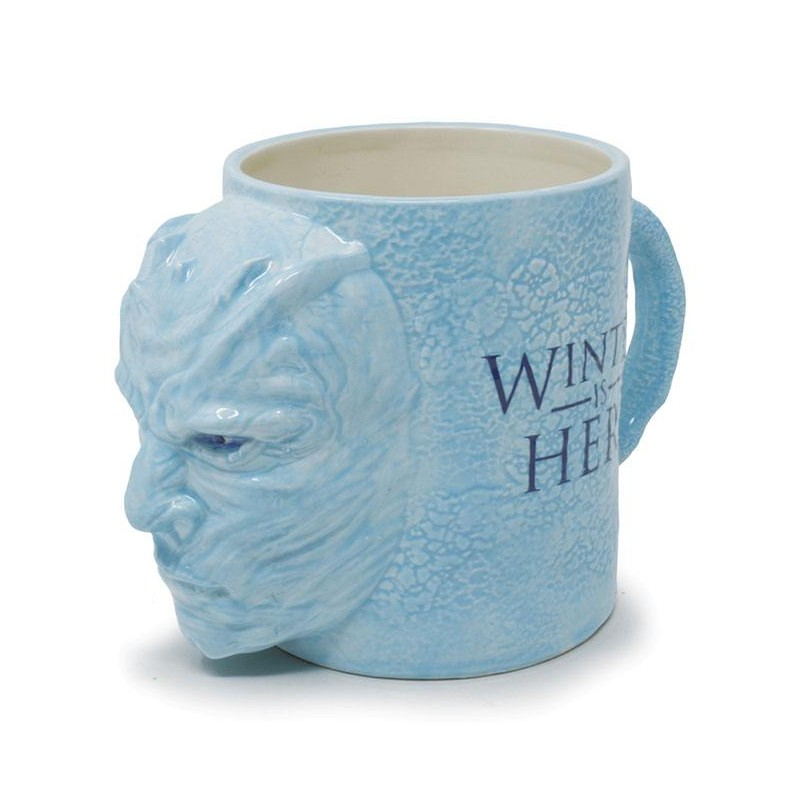 TAZA JUEGO DE TRONOS 3D SCULPTED NIGHT KING