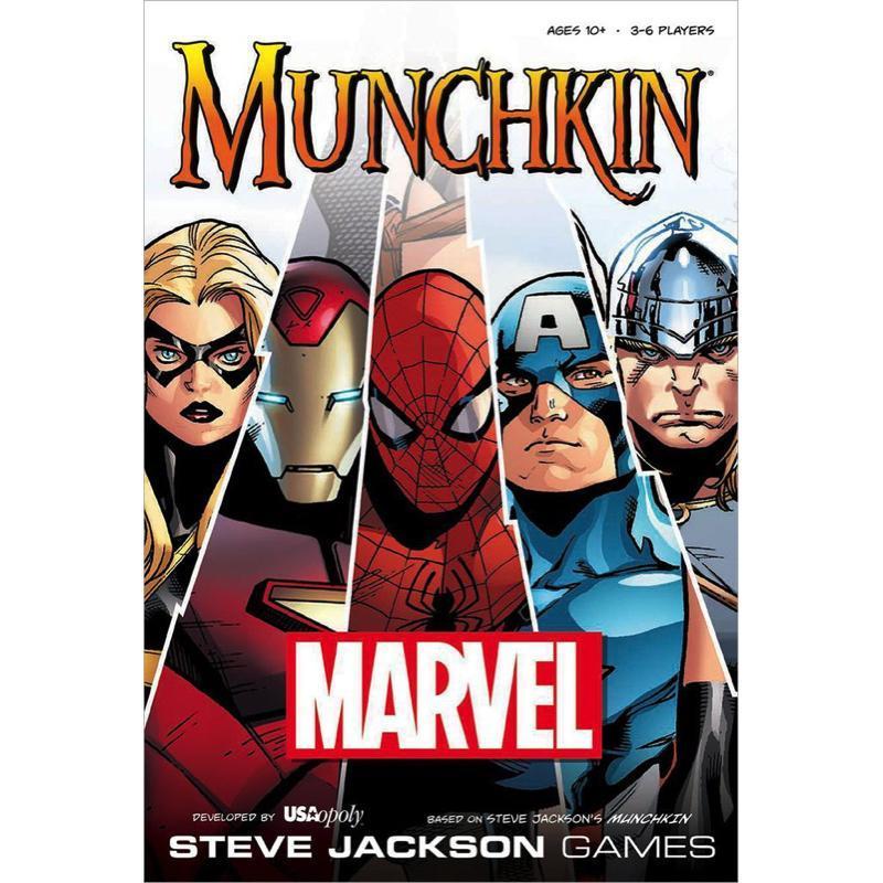 MUNCHKIN MARVEL (INGLES)
