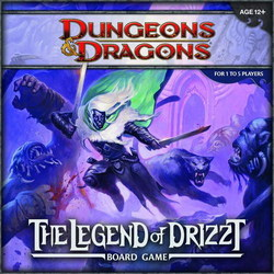 D&D TABLERO: LEGEND OF DRIZZT boardgame in english