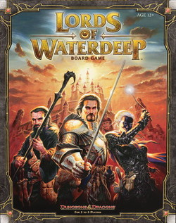 D&D TABLERO: LORDS OF WATERDEEP boardgame in english