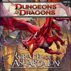 D&D TABLERO: WRATH OF ASHARDALON boardgame in english