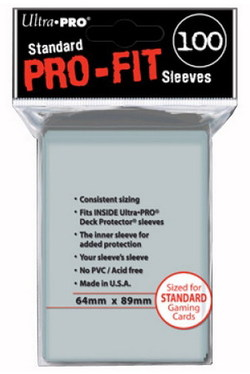 82712 - ULTRA PRO PERFECT SIZE CARD SLEEVE
