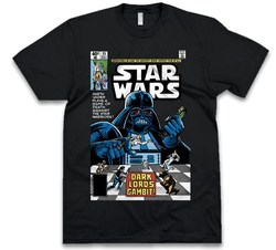 CAMISETA STAR WARS VADER COMIC NEGRA talla XL
