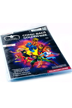 ULTIMATE GUARD COMICS BAG GOLDEN SIZE (100 units)