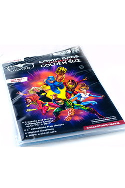 BOLSAS CON CIERRE COMIC GOLDEN ULTIMATE GUARD 100 unid.