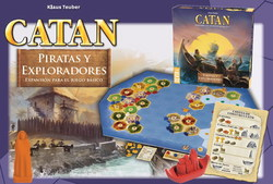 EXPLORERS & PIRATES EXPANSION CATAN