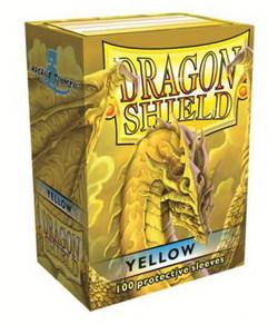 FUNDA DRAGON SHIELD AMARILLO (100)