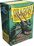 DRAGON SHIELD SLEEVES - BOX OF 100 - GREEN