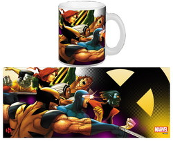 TAZA MARVEL X MEN