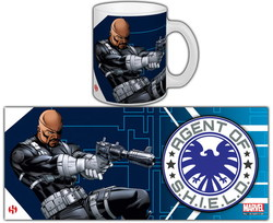 TAZA MARVEL NICK FURY
