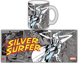 MARVEL COMICS RETRO MUG SILVER SURFER