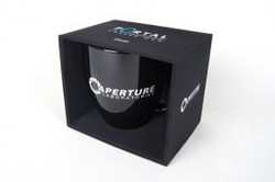TAZA PORTAL 2 APERTURE LABORATORIES