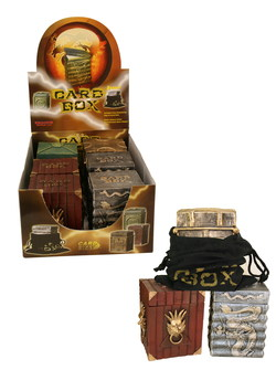 DISPLAY DECK BOX GOTHIC HEAVY SOLID *DELUXE* (6)