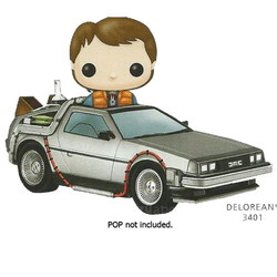 FIGURA POP MOVIES REGRESO AL FUTURO: DELOREAN
