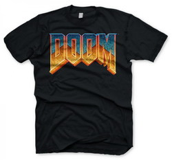 DOOM T-SHIRT LOGO