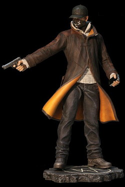FIGURA WATCH DOGS PVC 25 CMS