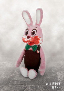 SILENT HILL PLUSH ROBBIE THE RABBIT