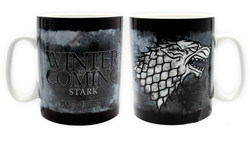 GAME OF THRONES - MUG - 460 ML - STARK - PORCL. WITH BOX