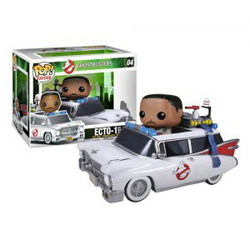 FIGURA POP MOVIES CAZAFANTASMAS CON COCHE