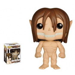 FIGURA POP ATTACK ON TITANS :EREN TITAN