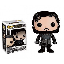 FUNKO POP! GAME OF THRONES - JON SNOW BLACK GUARD VINYL FIGURE 4