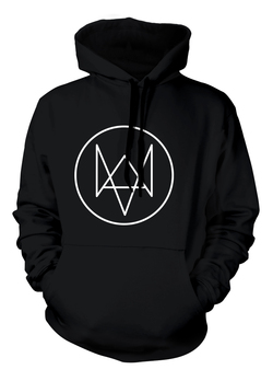 SUDADERA CON CAPUCHA WATCH DOGS LOGO FOX XXL