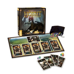 STANDARD BOX - THE HOBBIT - ENCHANTED GOLD *SPANISH* (8)