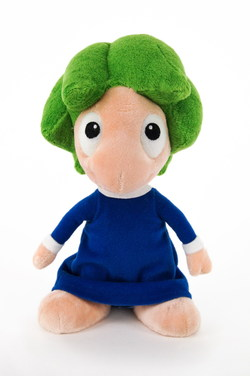 PELUCHE LEMMINGS CON SONIDO 22 CMS