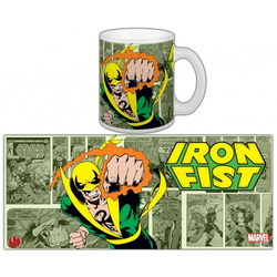 TAZA MARVEL IRON FIST