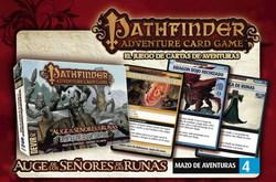 PATHFINDER JUEGO DE CARTAS - EXP 4 FORTALEZA