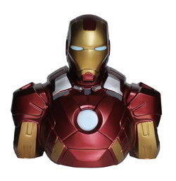 HUCHA BUSTO IRON MAN MARK VII 22 CMS