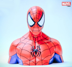 HUCHA BUSTO SPIDERMAN 22 CMS