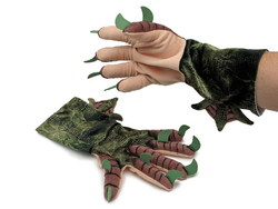 CTHULHU GLOVES WITH CLAWS