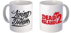 TAZA DEAD ISLAND 2 LIVING THE DREAM